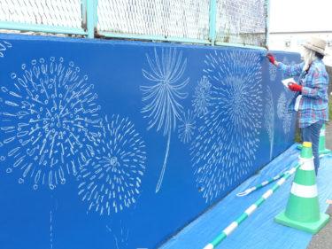 しれにあ跨線橋壁画リニューアル事業「ダ・ビンチプロジェクト」